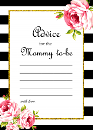 to be advice cards free to be advice card baby shower ideas themes
