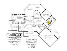 tranquility house plan 11140 basement floor plan rustic mountain