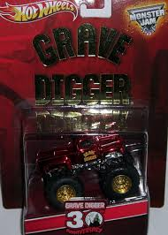 grave digger toy monster truck amazon com wheels grave digger monster jam spectra flame red