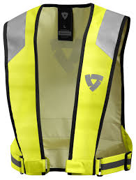 motorcycle vest rev u0027it hi viz connector vest revzilla