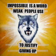 courage wolf by israfelx on deviantart