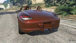 porsche boxster rear porsche boxster s 987 2010 for gta 5