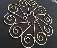gold ornament hooks ebay