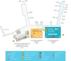 Airport Map Usa by Terminal Maps U2013 Lynden Pindling International Airport
