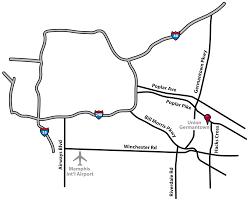 Memphis Map Germantown Memphis Degree Programs For Adults Union