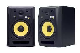 Attractive Computer Speakers Krk Rokit 6 Powered Monitor Speakers Review Digital Dj Tips
