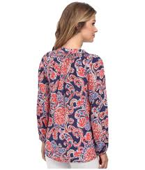 Lilly Pulitzer Swell Lilly Pulitzer Printed Elsa Top In Blue Lyst