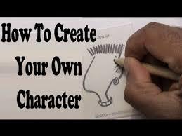 how to create a cartoon character youtube