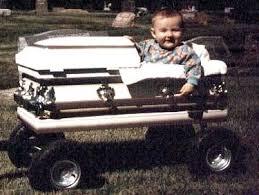 baby caskets kids casket wagon the that weeps blood casket