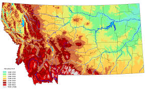 Montana On The Map by Montana Earth Science Picture Of The Week