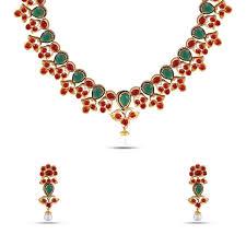 elegant necklace set images Elegant multicolor kundan necklace set mknks82 maalyaa jpg