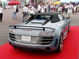 Audi R8 Gt Spyder - file audi r8 gt spyder rear jpg wikimedia commons