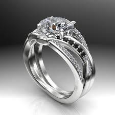 custom engagement rings images Oval crisscross custom diamond engagement ring jpg