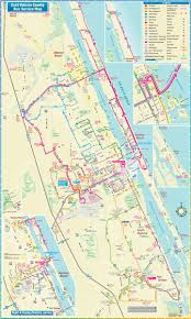 Daytona Florida Map by Daytona Beach Route Map