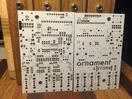 ornament crime pcb magpie modular