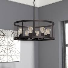 Dining Room Drum Chandelier Drum Chandeliers You Ll Wayfair