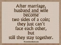 after marriage quotes quotes inspiration after marriage husband and become two