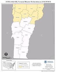 Vermont County Map Vermont Severe Winter Storms Dr 4163 Fema Gov