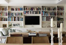 Bookcases With Lights Wall Units Interesting Built In Bookshelves And Cabinets