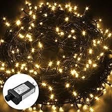 low voltage string lights amazon com excelvan safe low voltage 250 leds 50m 164ft fairy