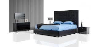 lyrica storage bed with black leather tall headboard