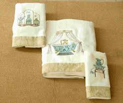 embroidery towel bath towel set photo detailed about embroidery