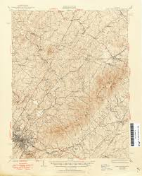 Floyd Va Map Virginia Historical Topographic Maps Perry Castañeda Map