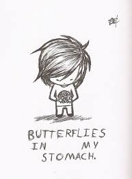 quotes about butterflies in my stomach 33 quotes
