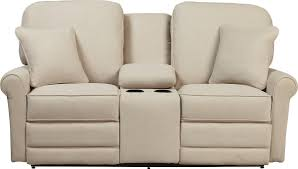 Rocking Reclining Loveseat With Console Transitional Reclining Loveseat With Cupholder And Storage Console