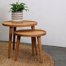 side table set of 2 nordic side table set of 2 indoor furniture bedside table satara
