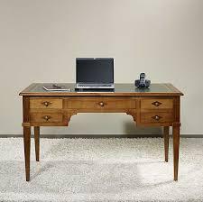 bureau style directoire bureau ministre 5 tiroirs en merisier massif de style directoire
