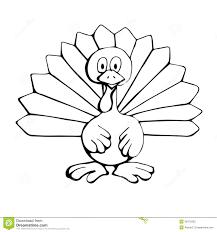 drawn turkey pencil and in color drawn turkey