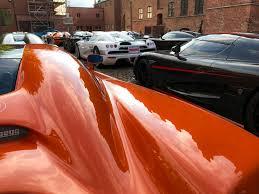 orange cars 2017 2017 koenigsegg owners tour koenigsegg koenigsegg