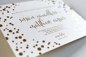 Foil Wedding Invitations Gold Foil Wedding Invitations Elegante Press Professional