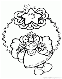 christmas angels coloring pages coloring