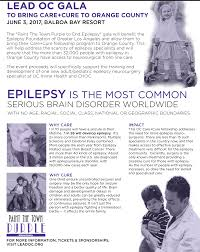 lead oc presents paint the town purple to end epilepsy gala