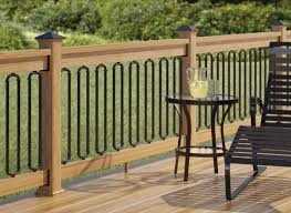 Railings And Banisters Ideas Wrought Iron Deck Railing Designs Check Out 100s Of Deck Railing