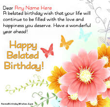 free birthday cards free birthday cards with name and photo