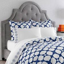 on sale navy hollywood duvet cover twin by jonathan adler