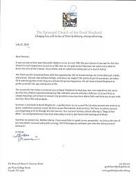 Bible College Acceptance Letter shepherd church vacation bible school 2015