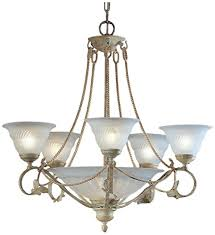 Ivory Chandelier Classic Lighting 4108 I Verona Wrought Iron Chandelier Ivory