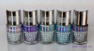 scrangie layla hologram effect nail polish swatches and review