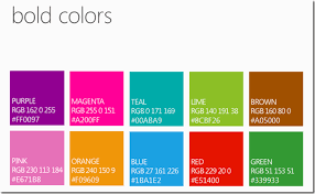 bold colors steven hollidge insights of a full stack dev metro bold colors