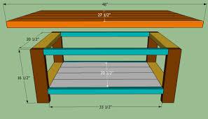 coffee table brilliant coffee table plans farmhouse coffee table
