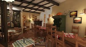 tuscanian bistro u2013 rustic interior design studio insign