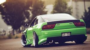 nissan 240sx s14 jdm nissan 240sx green jdm car stance wallpapers hd desktop and