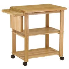 kitchen islands carts amazon com winsome wood utility cart natural