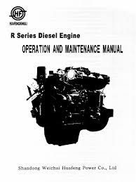 weichai huafengdongli r series diesel engine manual internal