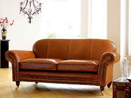 Distressed Leather Sofa Brown Luxury Distressed Leather Sofa Home Decorations Insight