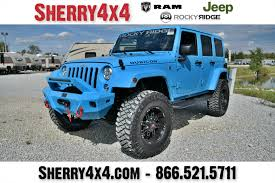 rubicon jeep blue 2017 jeep wrangler unlimited rubicon rocky ridge k2 28056t